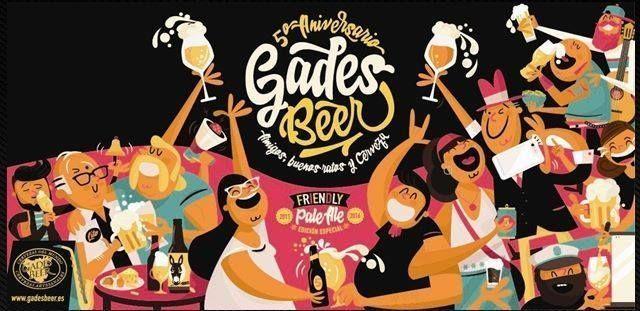 Etiqueta Gades Beer