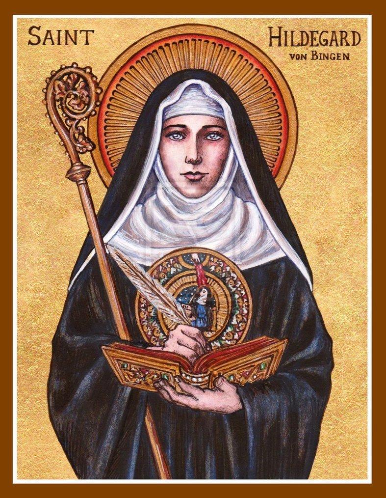 Hildegarda de Bingen - la mujer en la historia de la cerveza