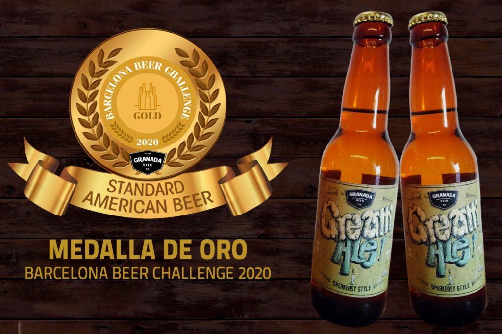 La Cerveza artesana andaluza triunfa en el Barcelona Beer Challenge