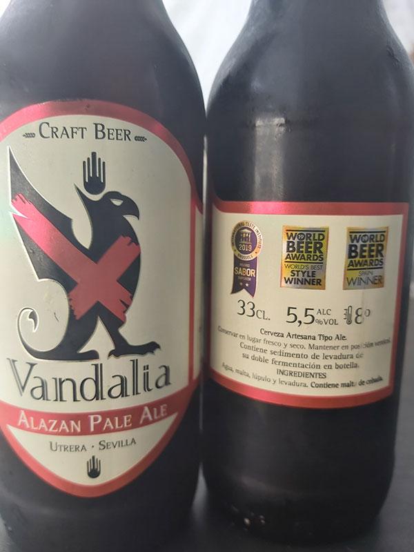 Cervezas Vandalia - Alazan