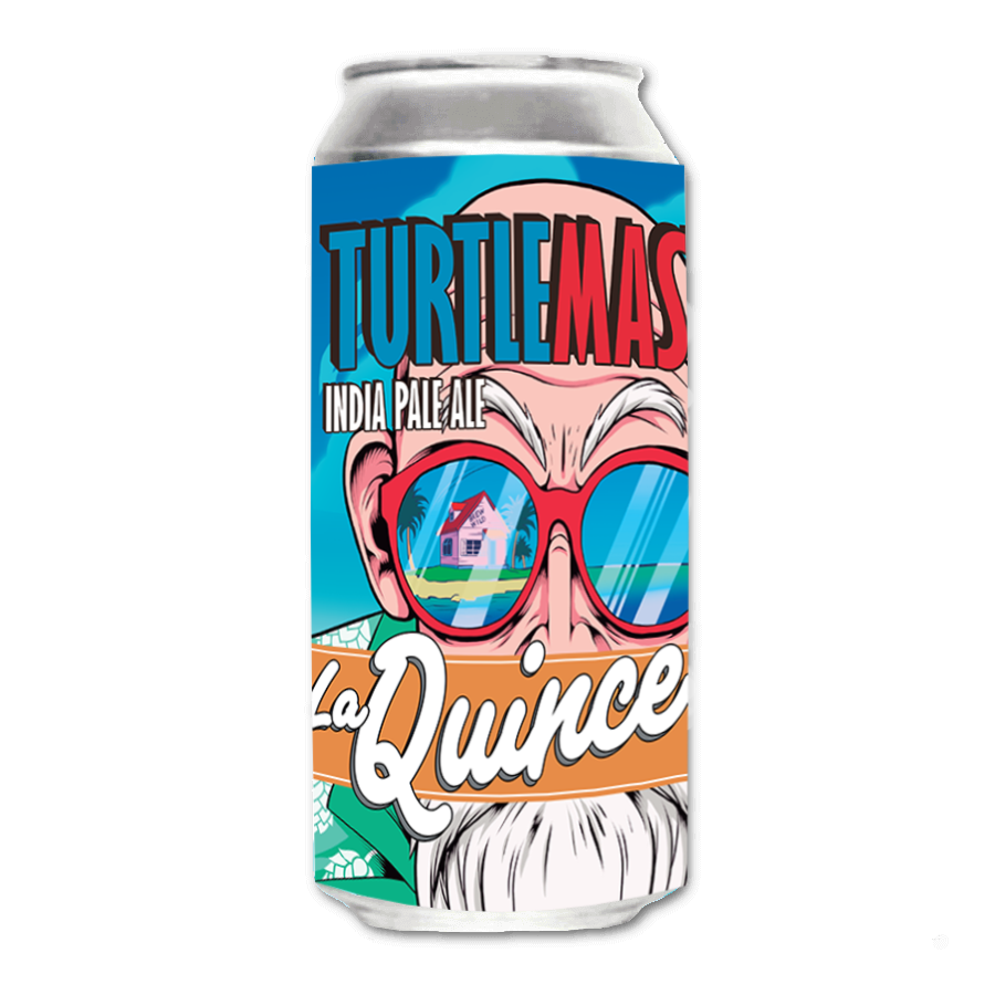 Cold IPA La Quince Brewery - Turtle master Beer